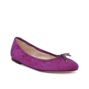 Sam Edelman Felicia Suede Ballet Flats Size 8.5